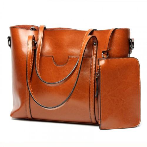Big Tote Handbag Five Colors Available
