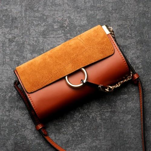 Cute Leather Clutch Bag